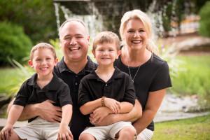 Bryson, Alex, Bev, and Max -The Payne Family, Fall 2014