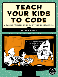 Teach Your Kids to Code book cover