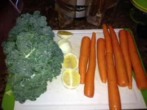 Kale Lemon Carrot Juice